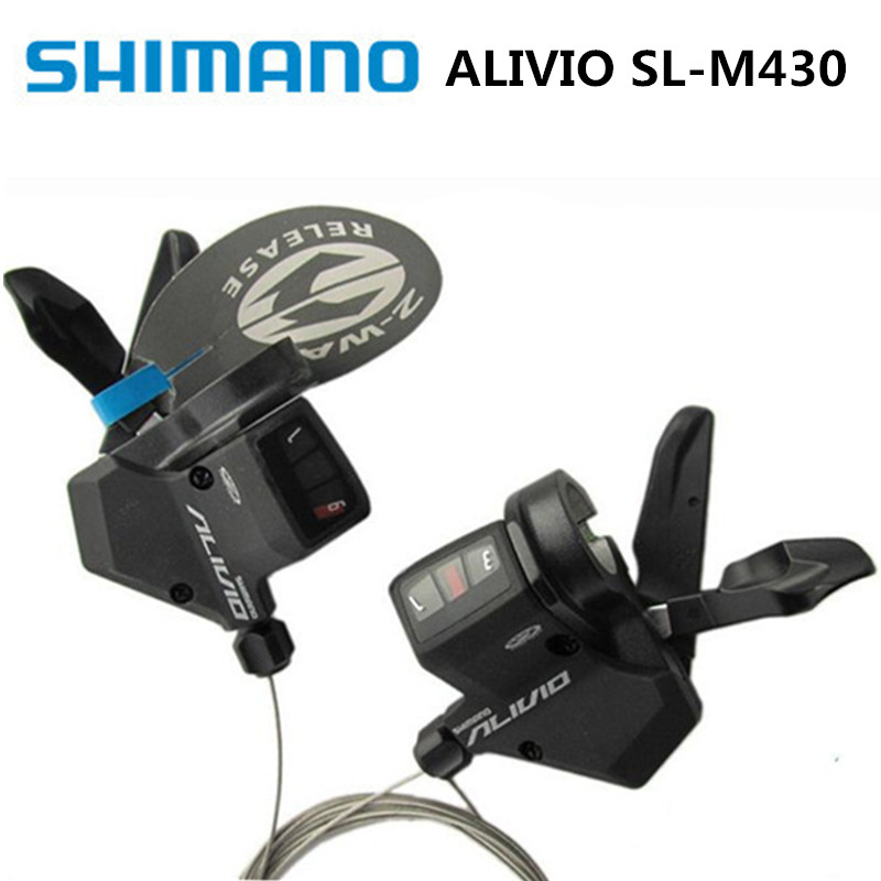 Bicycle Derailleur Shimano Alivio Sl-m430 Refers To The 3/9/27 Speed Mountain Bike Split Dialing Brand New Original Bringing More Convenience To The People In Their Daily Life Cycling