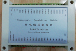 TAM-KT1300-16L 16-channel K-type Thermocouple Temperature Acquisition Module High Temperature and High Resolution