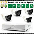 HD 4CH 1080P CCTV Security System 2MP IP Camera Outdoor Video Surveillance Security Cameras 8 channel NVR Kit