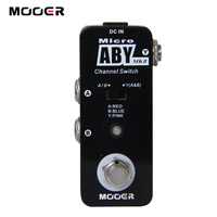 New MOOER Micro ABY Channel Switch Effects Pedal / True Bypass Electric Guitar Effectors Free Shipping