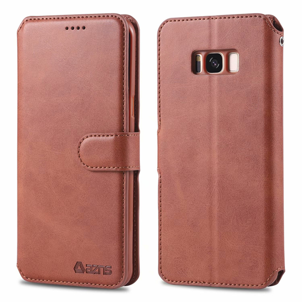 Vintage Genuine Leather Flip Case For Samsung Galaxy S8 S9 S10 Plus S10 5G Note 8 Note9 Luxury Card Slot Wallet Phone Cover