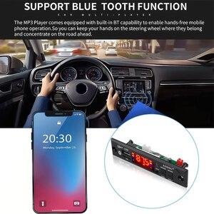 Image 4 - Kebidu voiture Audio FM Radio Module sans fil Bluetooth 5V 12V MP3 WMA décodeur carte lecteur MP3 avec télécommande Support USB TF