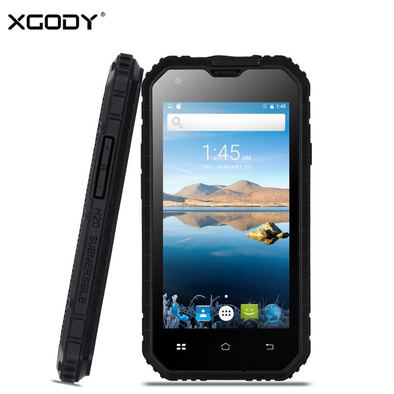 XGODY G14 3G Smartphone 4 5 Inch IP68 Waterproof Shockproof Phone Android 6 0 MTK6580 Quad