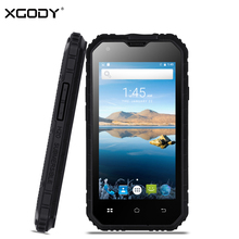 XGODY G14 3G Smartphone 4.5 Inch IP68 Waterproof Shockproof Phone Android 6.0 MTK6580 Quad Core 1+8GB Dual SIM Mobile Phone