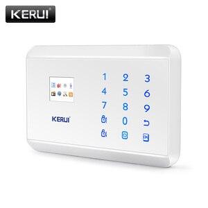 Image 5 - KERUI 8218G White Black Alarm Control Center Panel Android IOS APP control GSM PSTN Home Burglar Security Alarm System