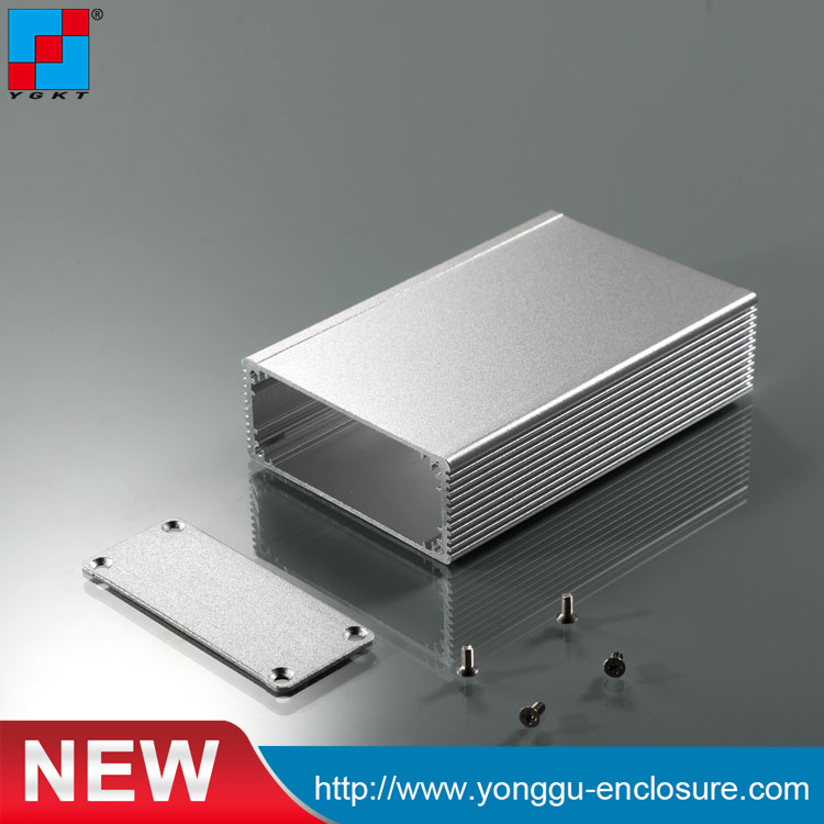 US $2 8 |66*27*100mm Custom Aluminum Extruded Housing for Instrument  equipment PCB aluminum enclosure case/aluminum electronic enclosure-in  Connectors