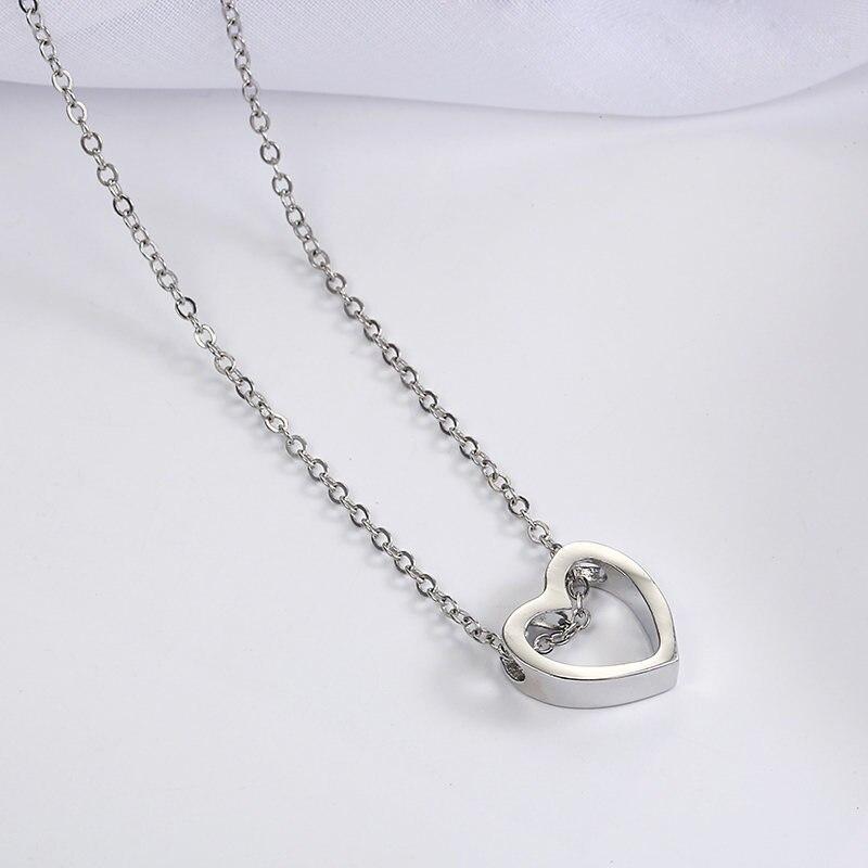 Модное женское ожерелье из сплава, s& Кулоны, колье, ожерелье золотого цвета с кристаллами, ожерелье для женщин, подарок - Окраска металла: xz3yin