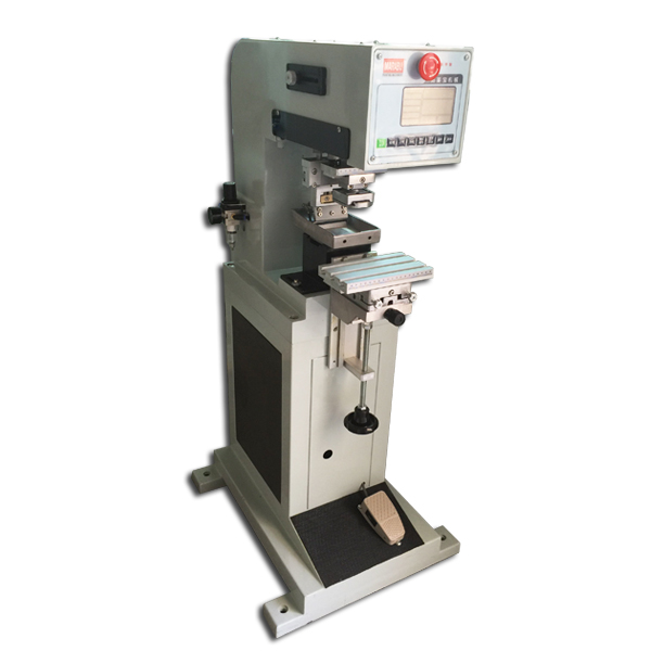 Single Color Vertical Cheap Pad Printing Machine