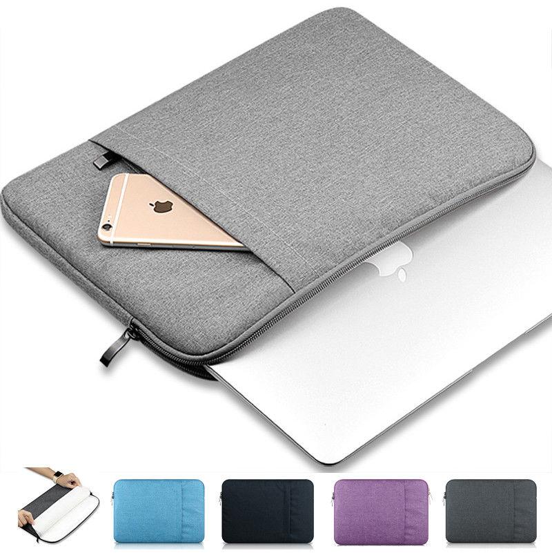 Nylon Laptop Sleeve Bag Case For Macbook Air Pro Retina 11 13 15 Laptop Bag For Mac Book Air 11.6 13.3 Pro 15