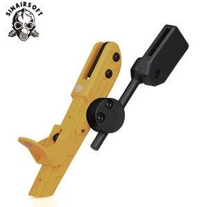 Image 5 - Tactical IPSC CR Velocidade pistola Estilo Universal Holster Mão Direita Preto Azul Amarelo Vermelho Para Acessórios De Paintball caça tiro