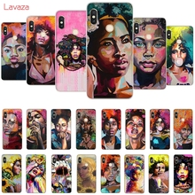 Lavaza Anette Tjaerby  Gal Afro Hair Pop Art Hard Case for Huawei Mate 10 20 P10 P20 P30 Lite Pro P Smart 2019 Honor 8x