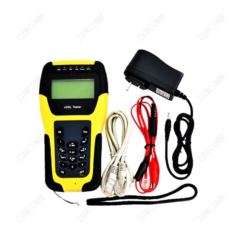 ZHWCOMM Handheld ST332B VDSL VDSL2 xDSL / DSL WAN LAN Tester Line Network /DMM test BY DHL