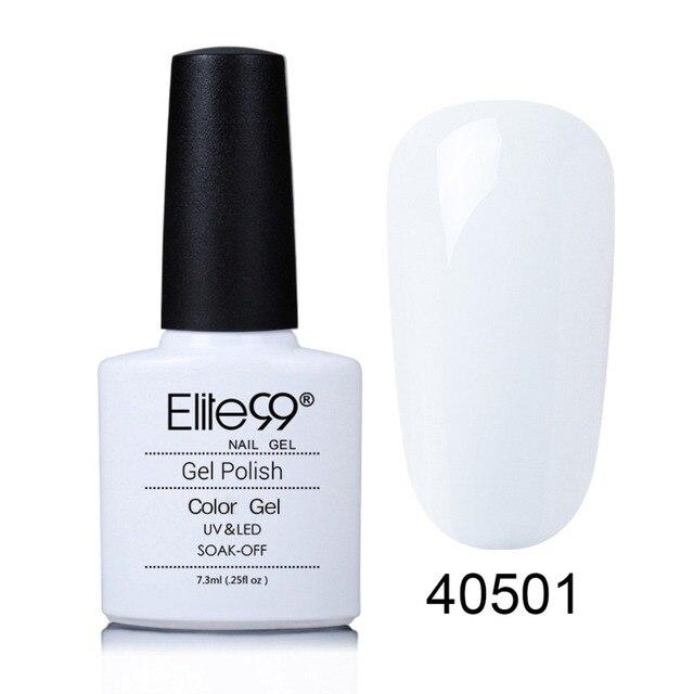 Elite99 7,3 ml Tränken weg UV Nagel Gel Langlebige Nagellack Gelpolish Professionelle Bunte Nail art Polnischen Gel heißer Verkauf