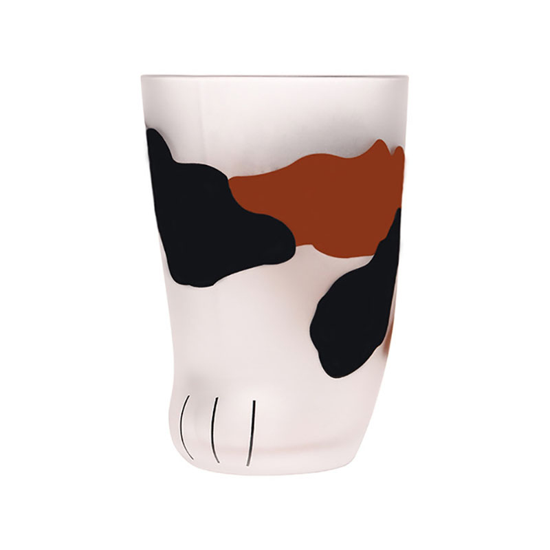New Creative Cute Cat Paws Glass Tiger Paws Mug Office Coffee Mug Tumbler Personality Breakfast Milk Porcelain Cup Gift