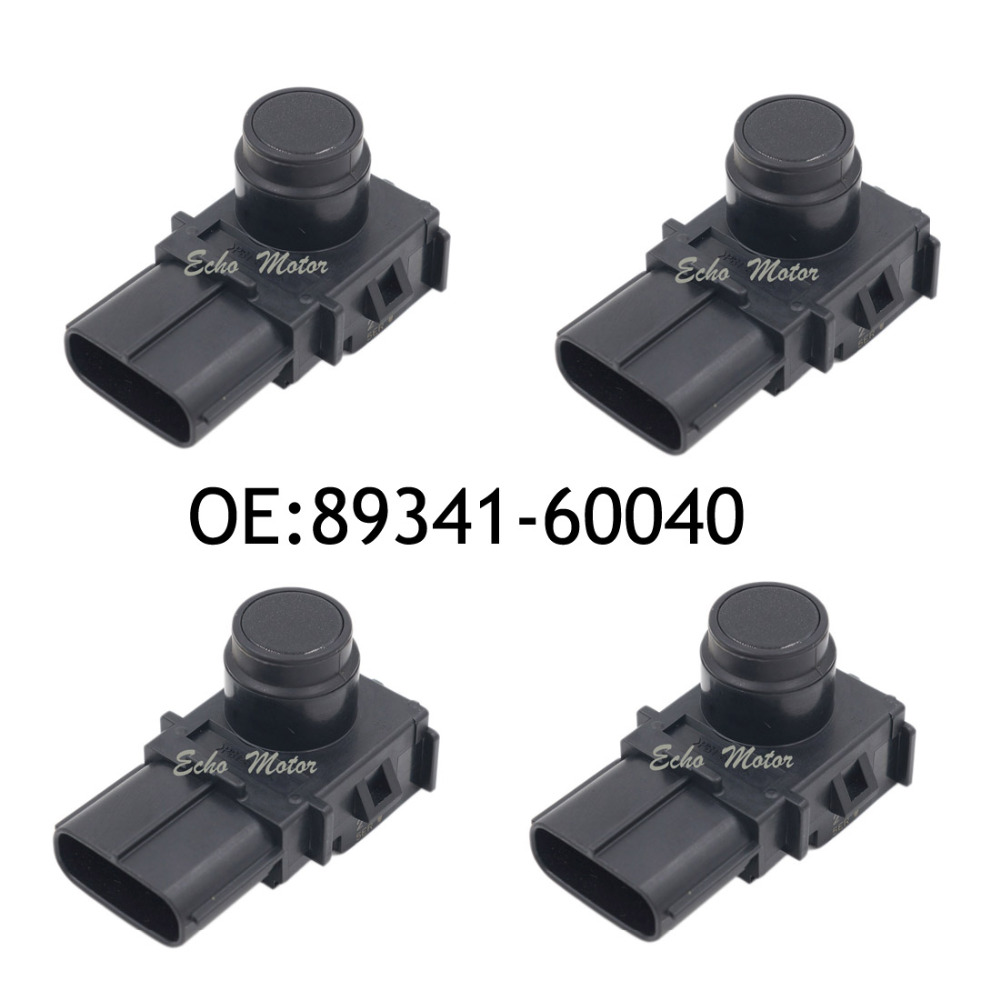 NEW SET(4) 89341-60040 217 Parking Sensor Ultrasonic For Toyota Lexus IS350 GS350 ES350 188400-2570 8934160040 4 pcs auto parts new original ultrasonic parking sensor 89341 76010 c0 89341 76010 8934176010 for lexus gs450 hybrid