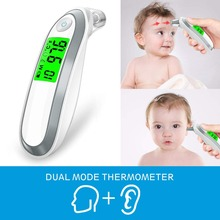Ear and Forehead Thermometer Digital Medical Infrared with 3 Fever Indicators Convert Suitable for Infant Baby Child