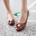 2016 Бросился Новое Прибытие 0-3 см Zapatos Mujer Tacon Женской Обуви Высокого пятки Дамы Туфли На Высоких Каблуках Женщины Насосы Size34-43 3836