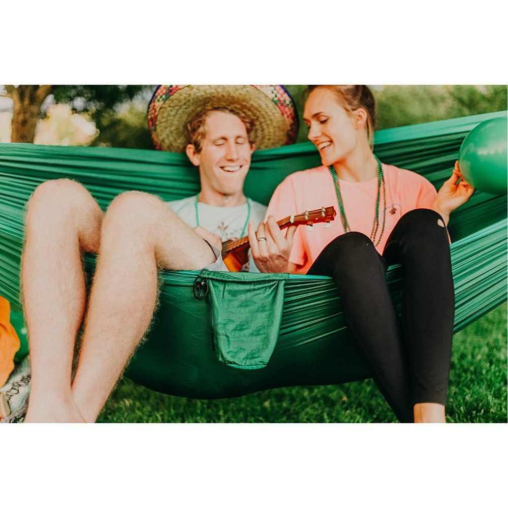 12 цветов нейлон гамак-парашют для кемпинга выживания сад качели Досуг Путешествия Портативная уличная мебель подвесная кровать