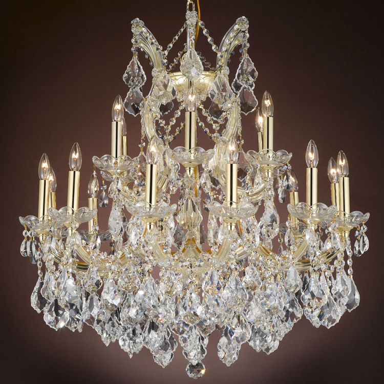 Luxury Classic Maria Theresa Crystal Chandeliers Hanging Lighting LED Lamp Cristal Glass Chandelier Light for Home Hotel Decor|maria theresa|chandelier lighting|glass chandelier lighting - title=