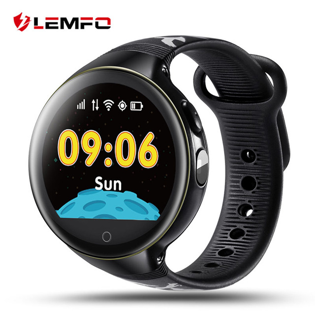 LEMFO LEC1 Child Smart Watch GPS / AGPS / LBS / WiFi and Camera Positioning SOS G-sensor Baby Kids Children Wrist Smartwatch
