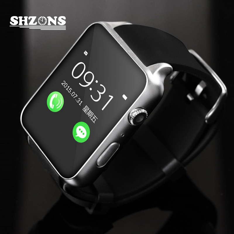 Hot Bluetooth Smart Watch Waterproof Heart Rate Monitor GT88 Support TF/SIM Card Smartwatch for iPhone 5s 6s Android Smart Watch