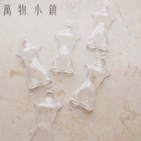 NEW Plastic Transparent Stereo human clothes hanger For BJD Azone Ob Barbie Doll Accessories