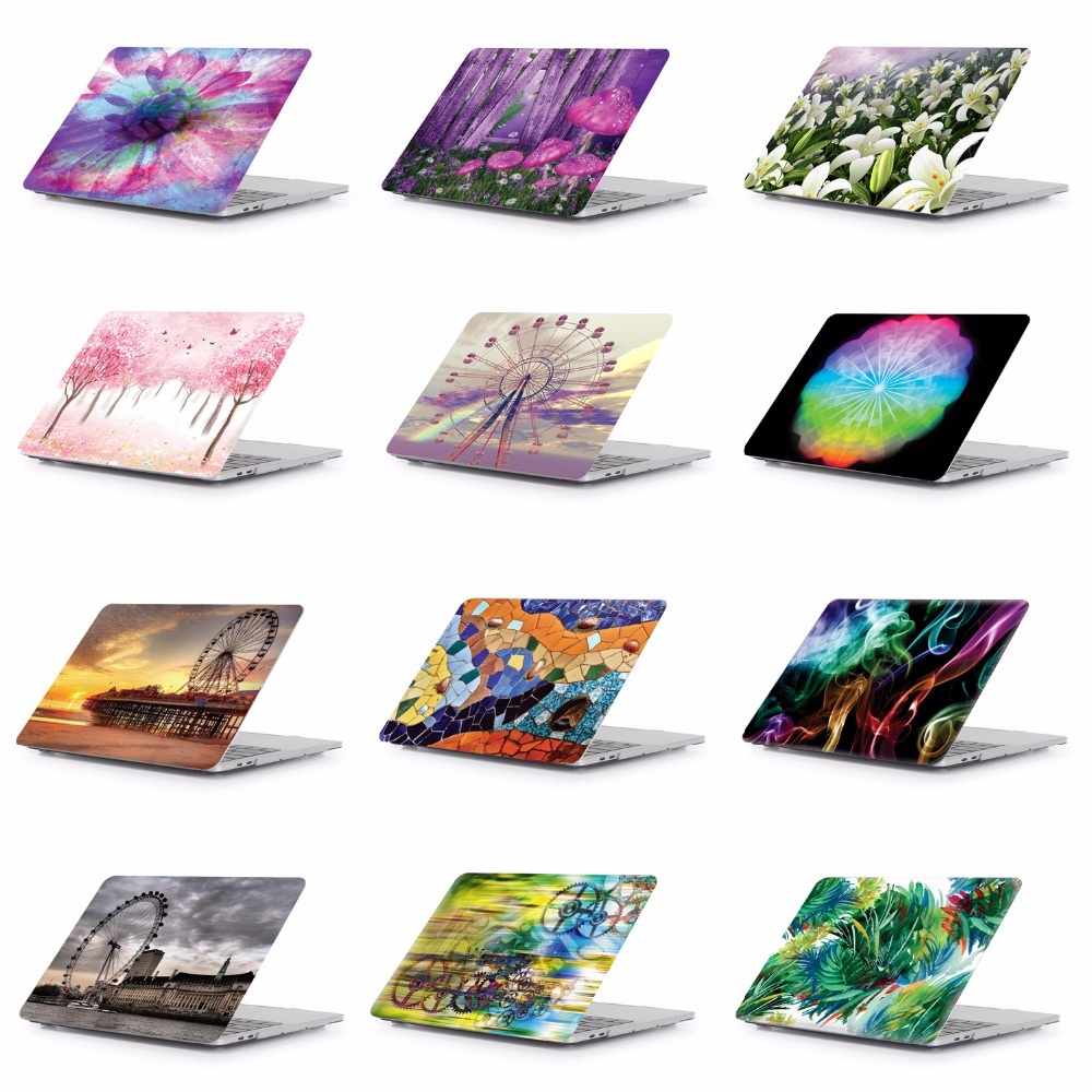 Laptop Tablet Pattern Protective Hard Shell Case Keyboard Cover Skin For 11 12 13 15 font