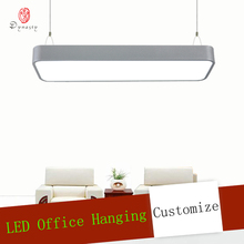 Modern Aluminum Hanging Lights Fashion Office Home Decoration LED Ceiling Personality Shop Restaurant Conference
