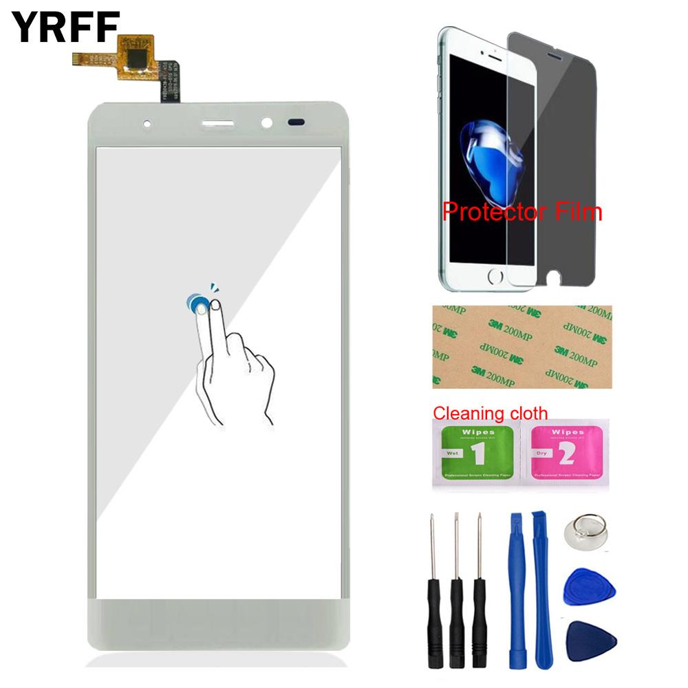 YRFF Phone Front Glass For Leagoo T1 Touch Screen Touch Digitizer Panel Glass Tools Free Protector Film AdhesiveYRFF Phone Front Glass For Leagoo T1 Touch Screen Touch Digitizer Panel Glass Tools Free Protector Film Adhesive