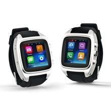 New Smartwatch X01 Updated Version Android 4.4 Dual core 1.54″ 512MB+ 4GB 3G WIFI Camera GPS intelligent watch X02 PK ZGPAX S99