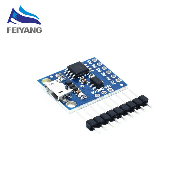 1 pz Digispark kickstarter Micro scheda di sviluppo modulo ATTINY85 usb lan
