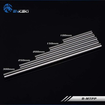 Bykski B-MTPP Metal Hard Tubing OD14MM Length 100mm 150mm 200mm 250mm 300mm Optional For Case,water cooler image