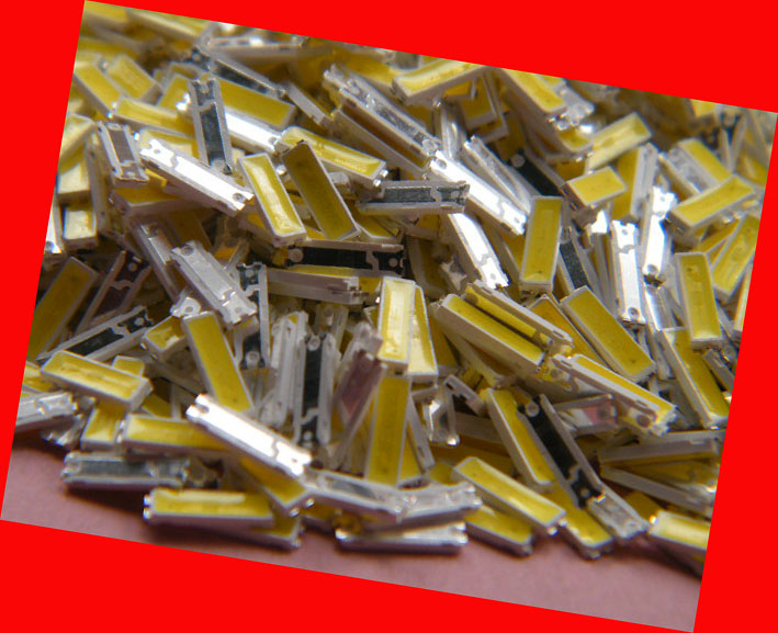 100 piece/lot FOR repair lg Sony Matsushita LCD TV LED backlight Article lamp 3V 7020 Cold white light emitting diode