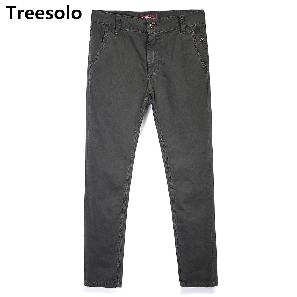 Jungen Kleidung Treesolo Männer Hosen 2018 Neue Ankunft Casual Pantalones Hombre Mode Taktische Böden Heißer Verkauf Baumwolle Military Cargo Hosen 447