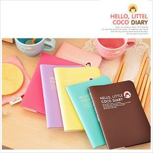 free shipping /  coco girl  notebook /   Notebook / Paper memo / Fashion Gift / Wholesale B 70535