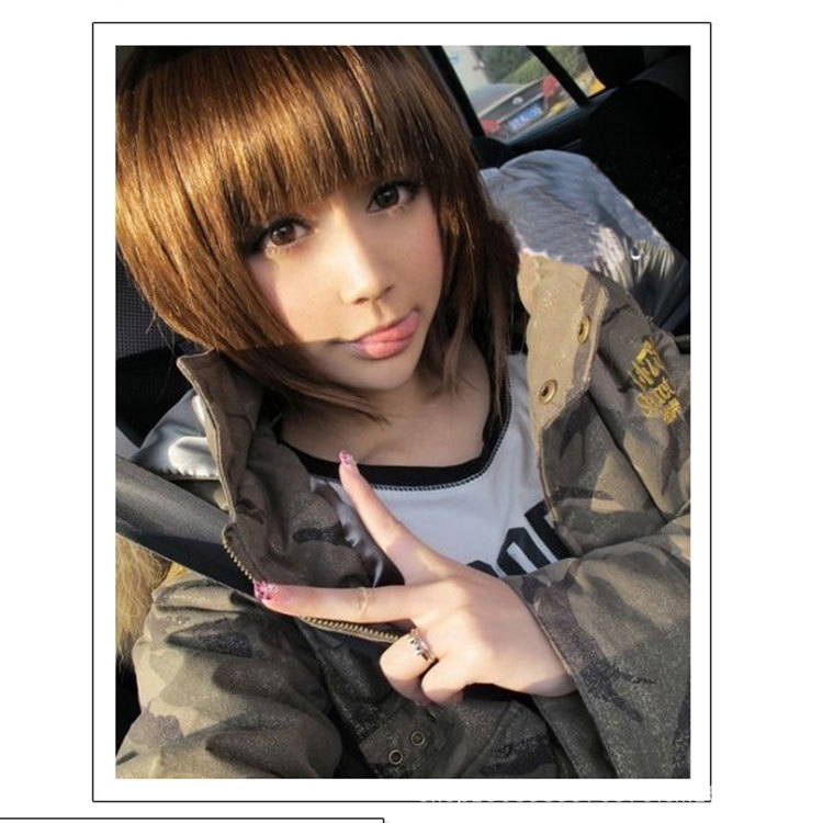 2015 natural wigs real anime cosplay
