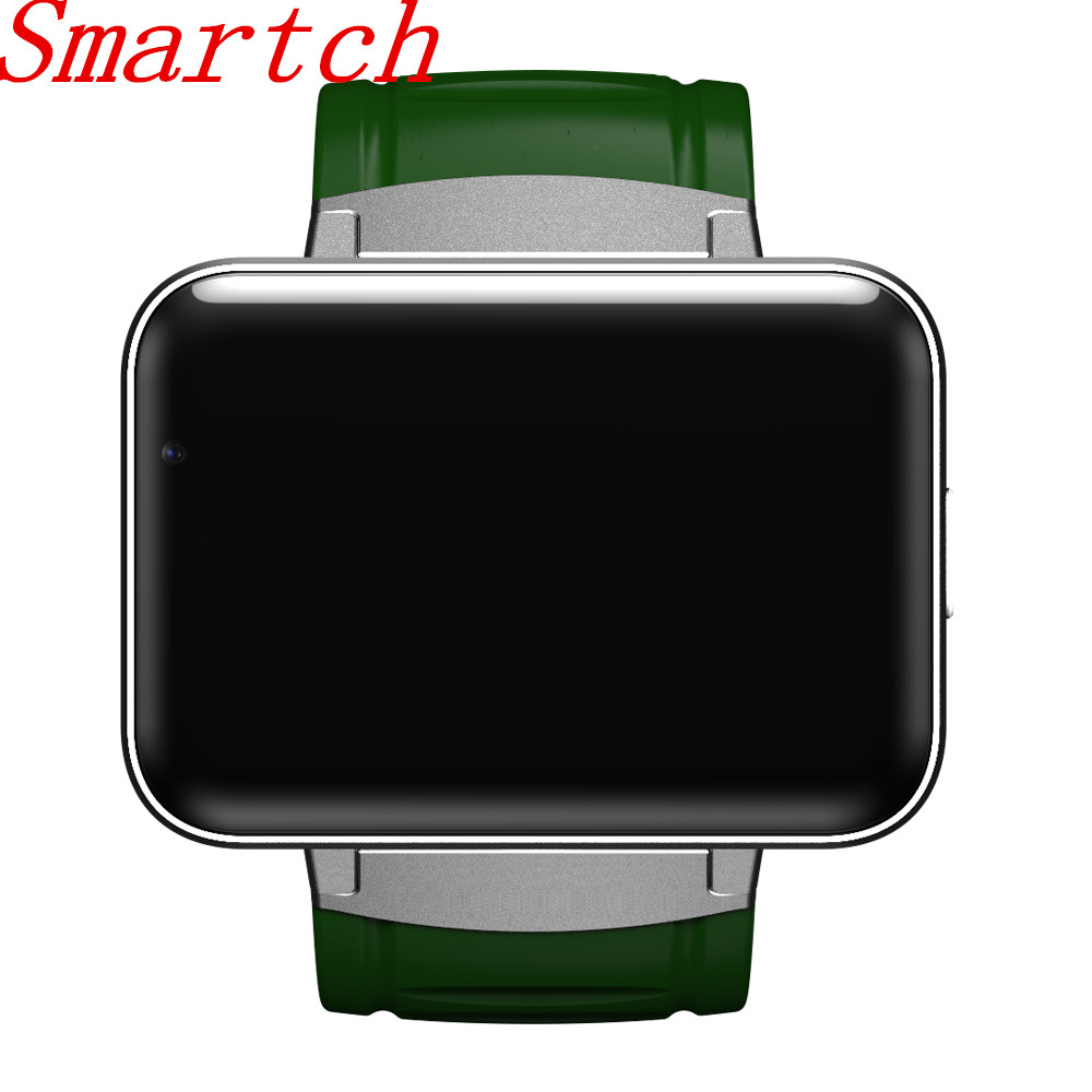 Smartch DM98 Bluetooth Smart Watch 2.2 inch Android 4.4 OS 3G Smartwatch Phone MTK6572 Dual Core 1.2GHz 4GB ROM Camera WCDMA GPS dz09 smartwatch phone updated version android 4 4 1 54 inch 3g mtk6572 1 2ghz dual core 512mb ram 4gb rom bluetooth smart watch