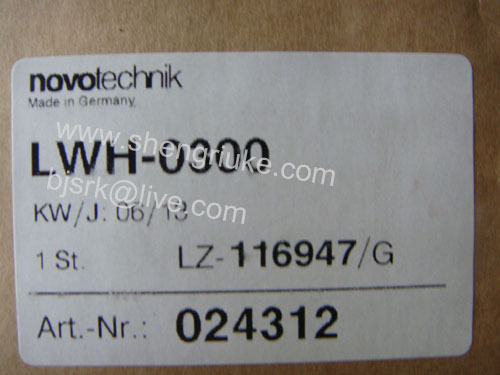 LWH-0300 Position Sensor  NOVO Technik dhl ems one new novotechnik position transducer lwh300 lwh 300