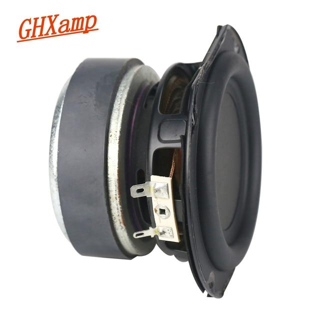 GHXAMP 4 אינץ 50W סאב רמקול יחידות 4ohm בס וופר רמקול בית אודיו DJ קול תיאטרון מחשב Bluetooth רמקולים 1pcs