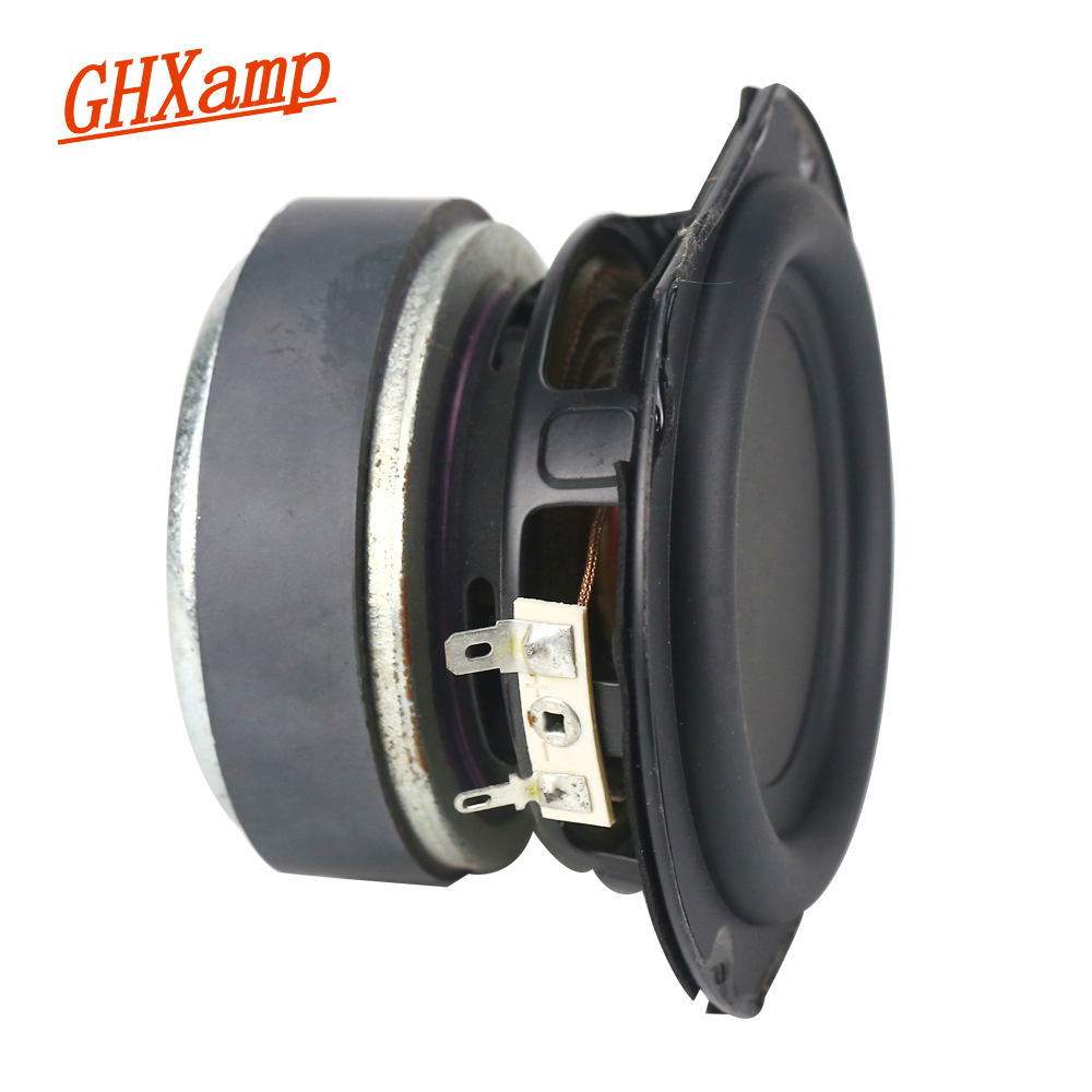 GHXAMP 4 Inch 50W Subwoofer Speaker Units 4ohm Bass Woofer Speaker Home Audio DJ Sound Theater Computer Bluetooth Speakers 1pcs ghxamp 3 inch 4ohm 30w midrange speaker car speaker mid human voice sound good loudspeaker for lg diy 2pcs