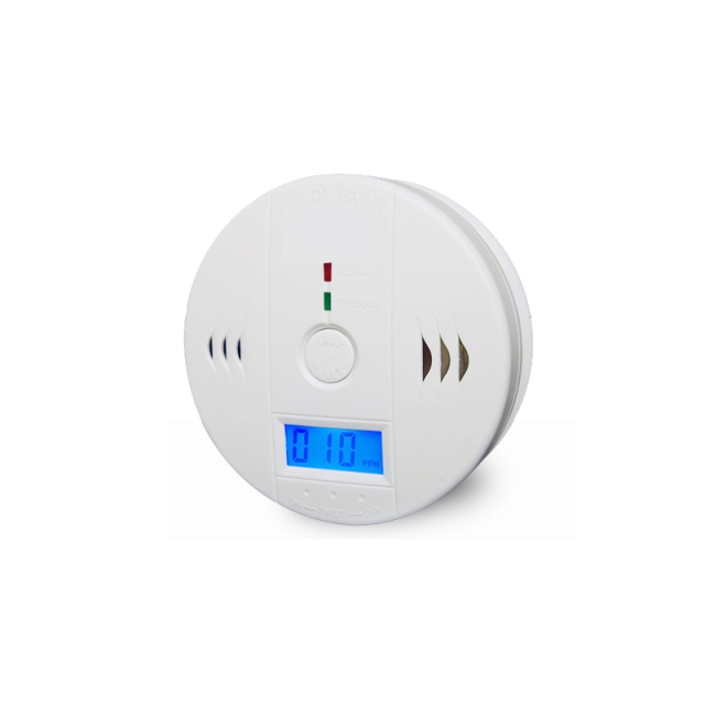 bossda High quality Carbon Monoxide Poisoning Sensor Monitor Alarm Detector Wireless Detector Fire Alarm