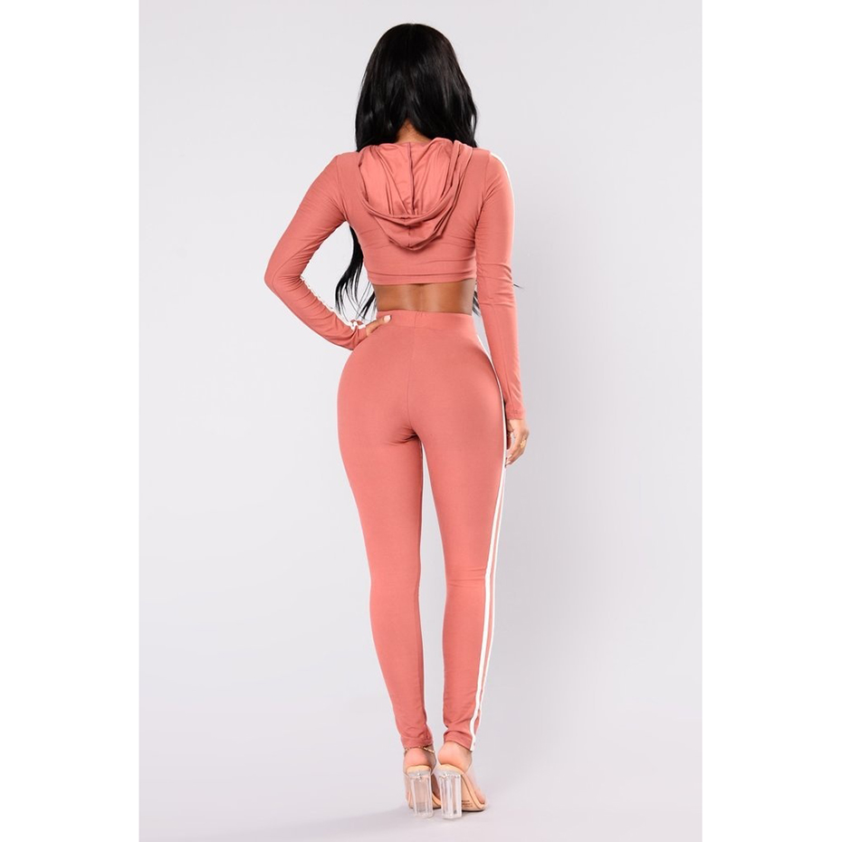 Zogaa Hot Sale Fashion Hot Sexy Print 2-Pieces Sequined Sets Women Full Sleeve Hooded Jumpsuits Lady Skinny 2-Color Jumpsuits