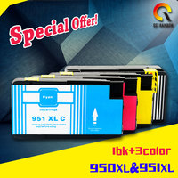 4 Pack Compatible For Hp 950 951 950XL 951XL Ink Cartridge For HP OfficeJet Pro 8100