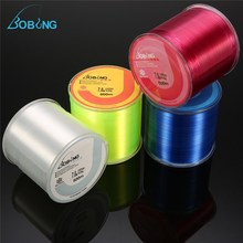 купить Bobing 500M Monofilament Nylon Fishing Line Super Strong Japan Fish Wire Cord Spool Tackle for Pesca Sea Carp Fishing онлайн