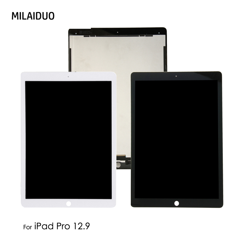 Orig Replacement For iPad Pro 12.9 inch A1652 A1584 LCD Display Touch Screen Digitizer Assembly with /no Small Board Black White 100% no dead pixel for apple iphone 4 4g lcd display with touch screen digitizer assembly black or white
