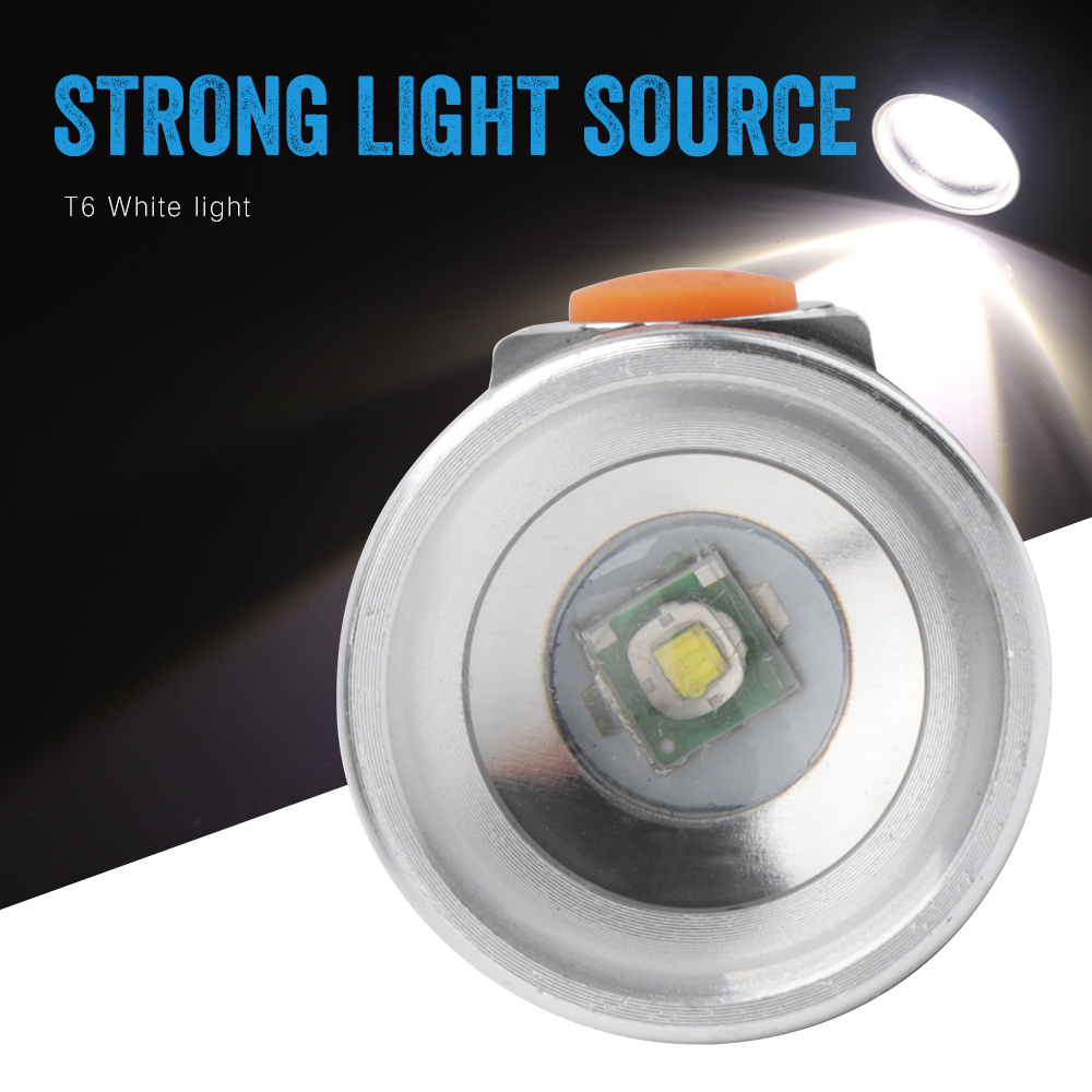 BORUiT XML T6 LED Flashlight with Solar Panel 4 Mode Zoom Torch USB Rechargeable Built in18650 Battery Lantern in LED Flashlights from Lights Lighting