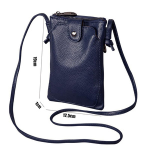 Image 5 - 2020 New Arrival Women Shoulder Bag Genuine Leather Softness Small Crossbody Bags For Woman Messenger Bags Mini Clutch Bag