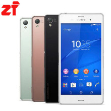 Sony Xperia Z3 original unlocked Quad-core Android mobile phone Z3 D6603 D6653 WIFI GPS 3G&4G 5.2″ 20.7MP 16GB ROM dropshipping