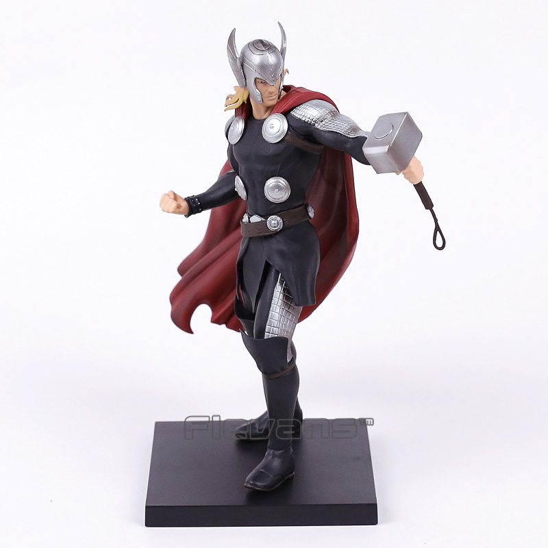 ARTFX + STATUE Marvel Thor 1/10 Scale Pre-Painted Model Kit Figure Collectible Toy 21.5cm artfx statue dc super hero red robin 1 10 scale pre painted figure collectible model toy