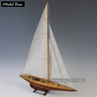 Ahşap Gemi Modelleri Kitleri Diy Tren Hobi Model Gemi Assemblage 3d Lazer Kesim Ahşap Ölçekli Modeli 1/80 Endeavour 1934 Tekne vücut